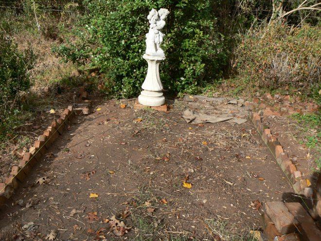 Cutting Garden Entrance